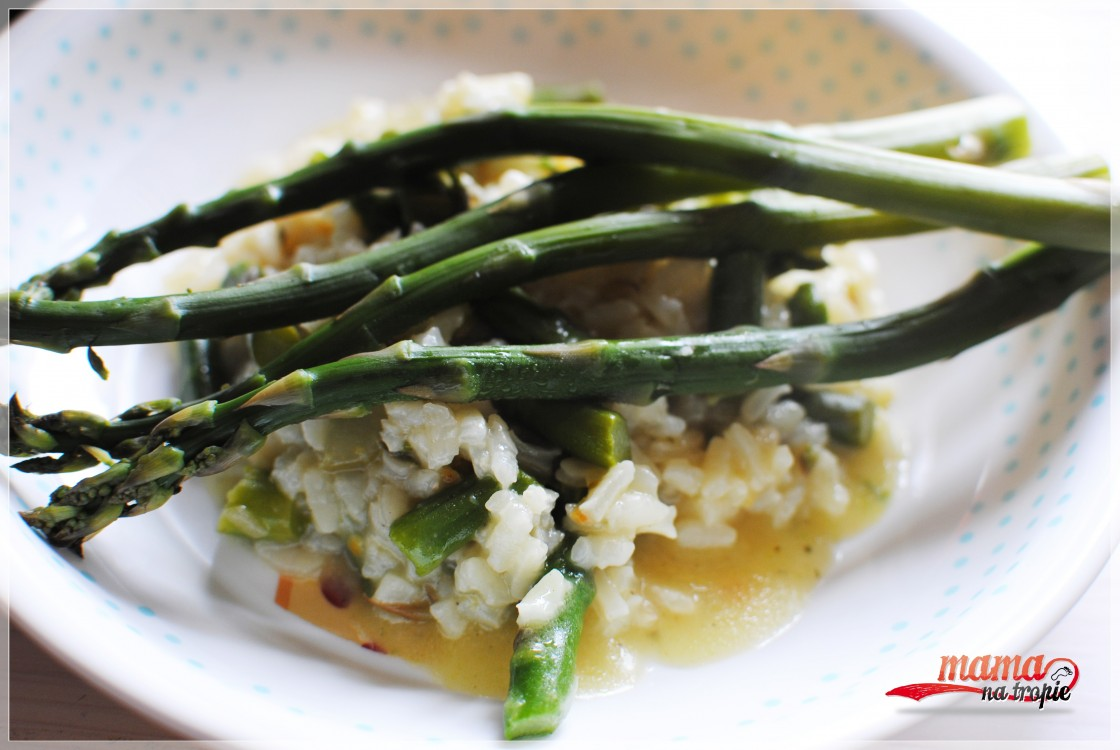 risotto ze szparagami