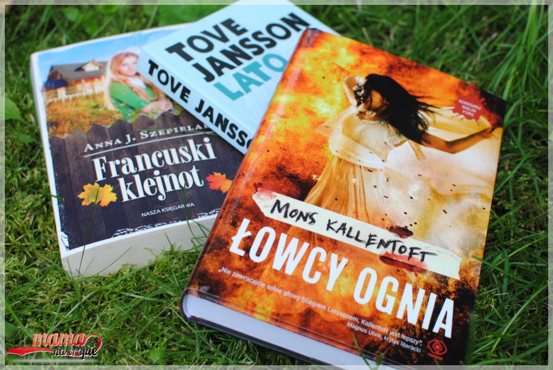 książki dla dorosłych, łowca ognia, lato, francuski klejnot