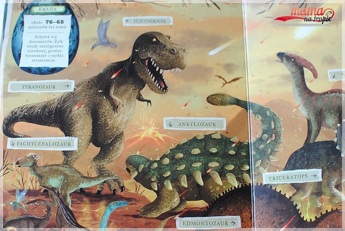 co robią dinozaury, nasza księgarnia, książki dla dzieci