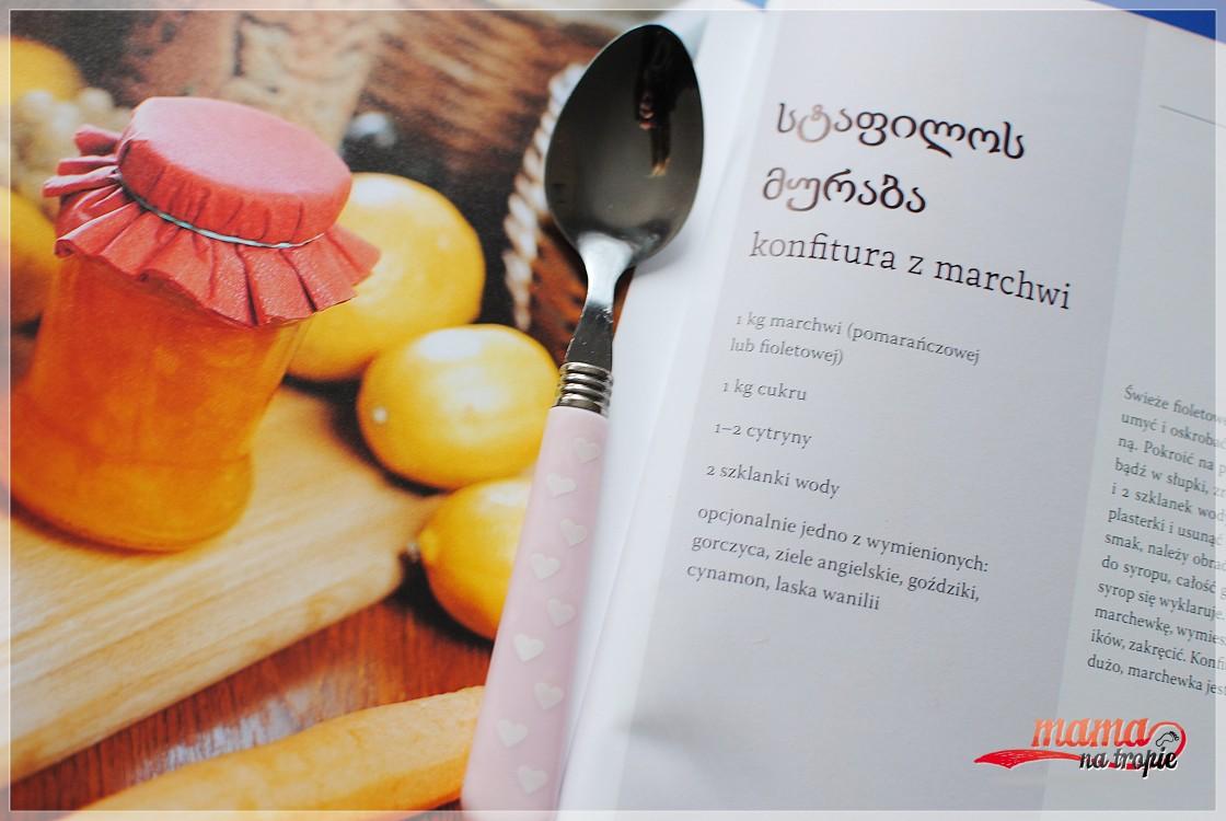 konfitura z marchewki, kuchnia gruzińska, marynaty