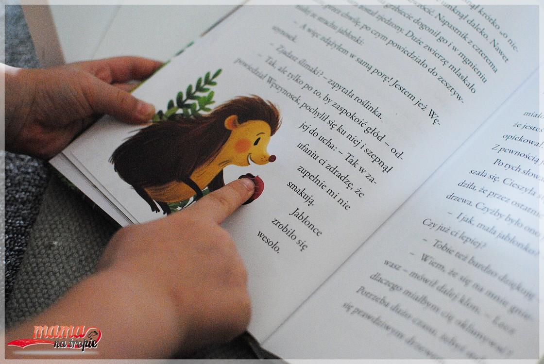 opowieści o małej jabłonce, książka dla dzieci, bestseller
