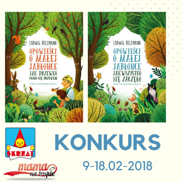 Konkurs Mała Jabłonka. skrzat, książka dla dzieci