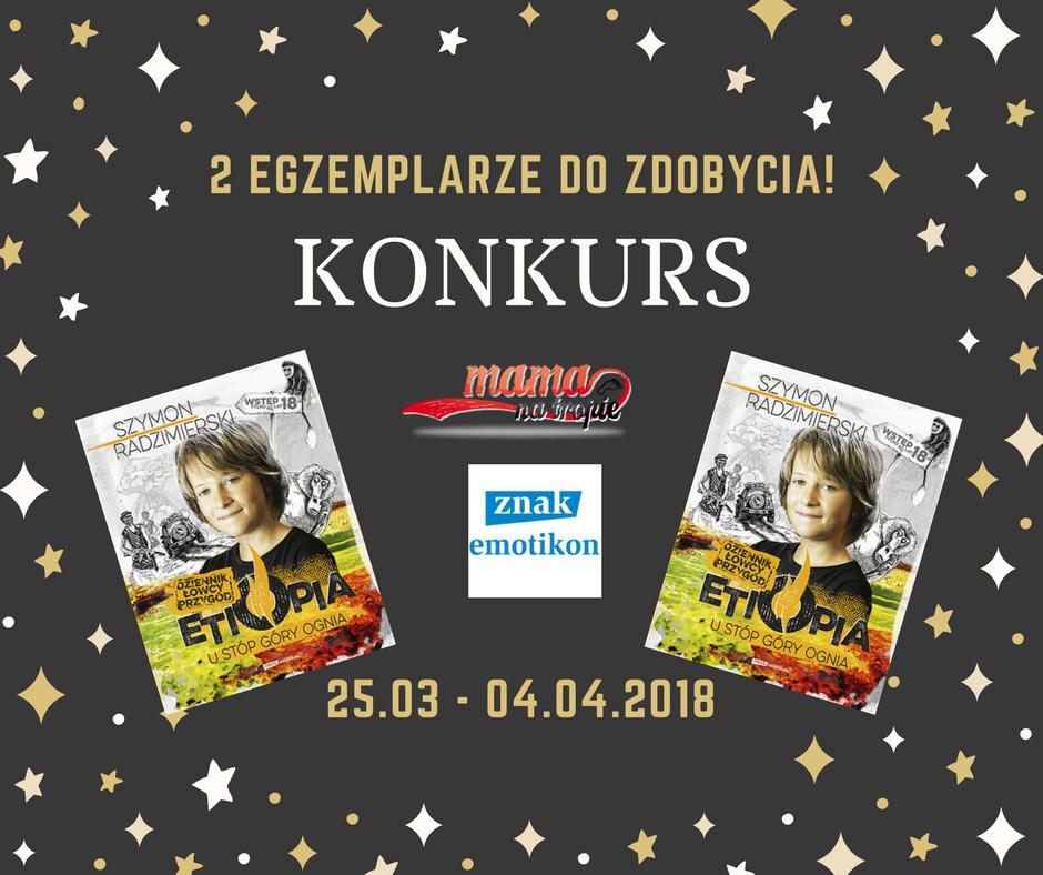 szymon radzimierski konkurs, konkurs książkowy, książki dla dzieci