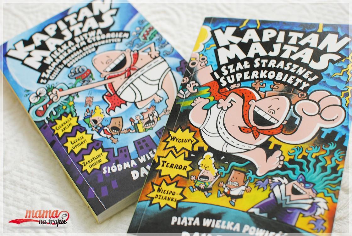 kapitan majtas, komiks dla dzieci, film animowany