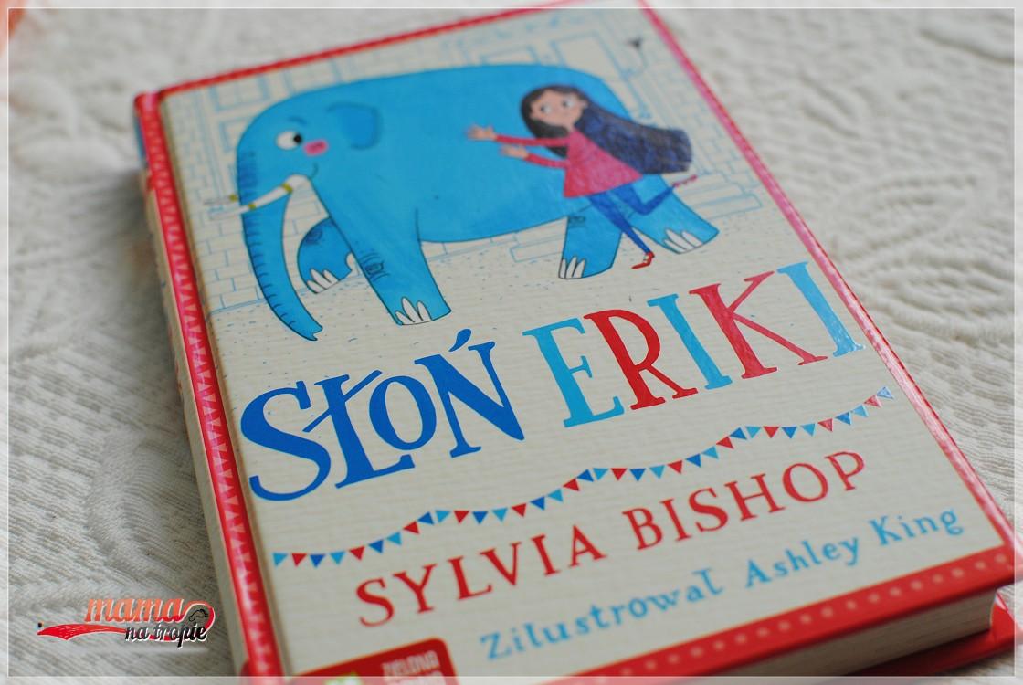 słoń eriki, zielona sowa, książka dla dzieci