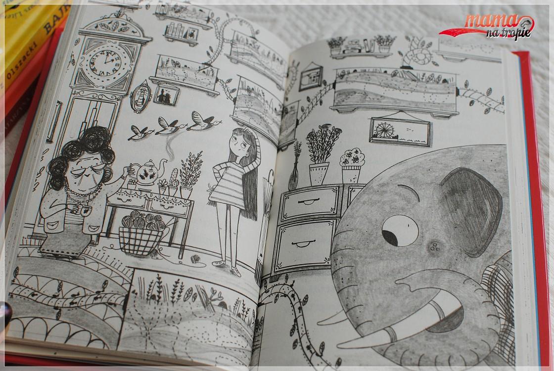 słoń eriki, książka dla dzieci, zielona sowa, sylvia bishop