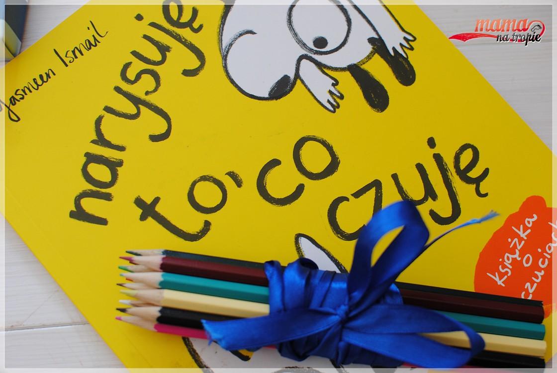 narysuję to co czuję, książka dla dzieci, książka o uczuciach