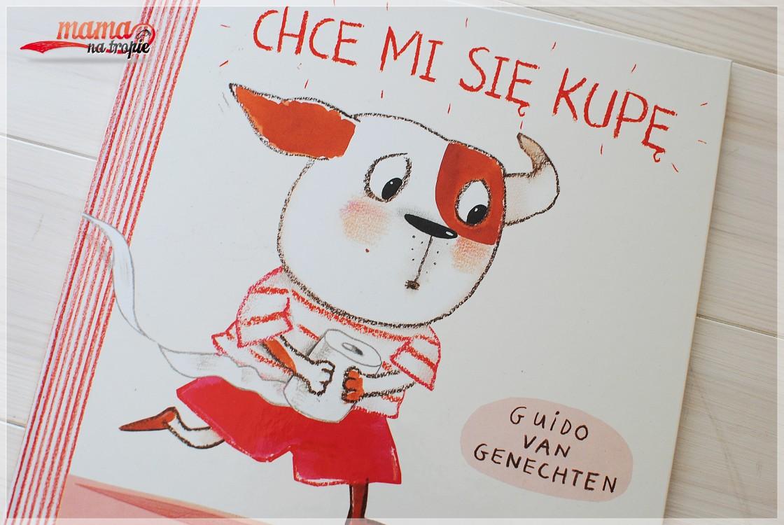 chce mi się kupę, książka dla dzieci, trening czystości