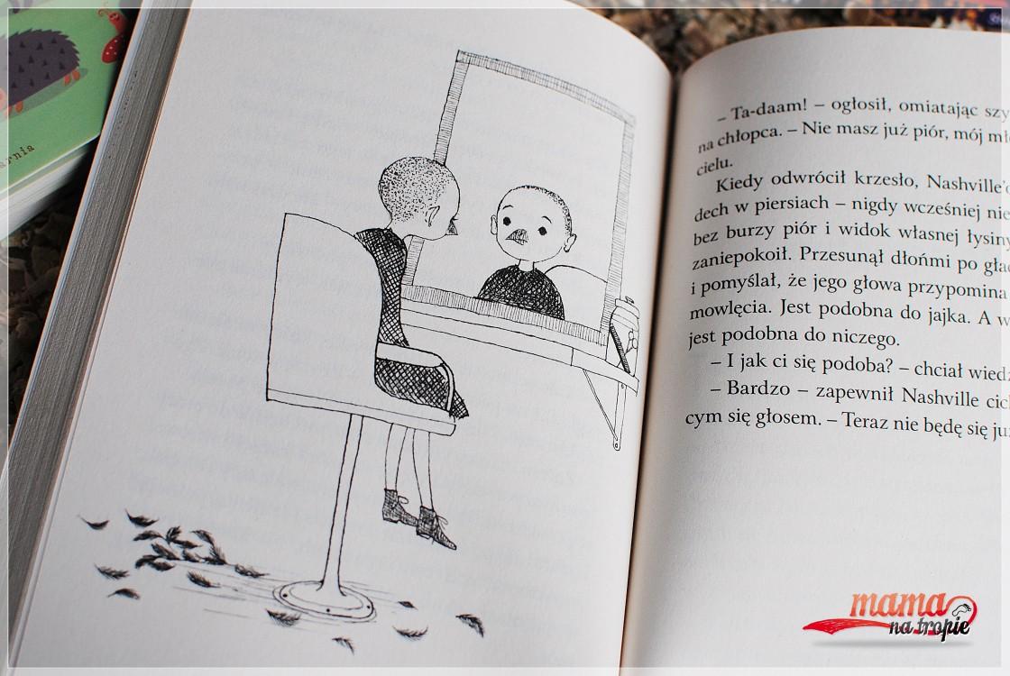 na roześmianym niebie, marzenie o lataniu, o marzeniach, książka dla dzieci