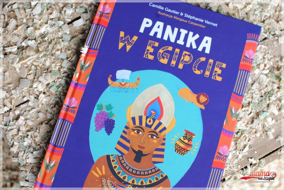 panika w Egipcie, starożytny Egipt, książka dla dzieci, książka detektywistyczna