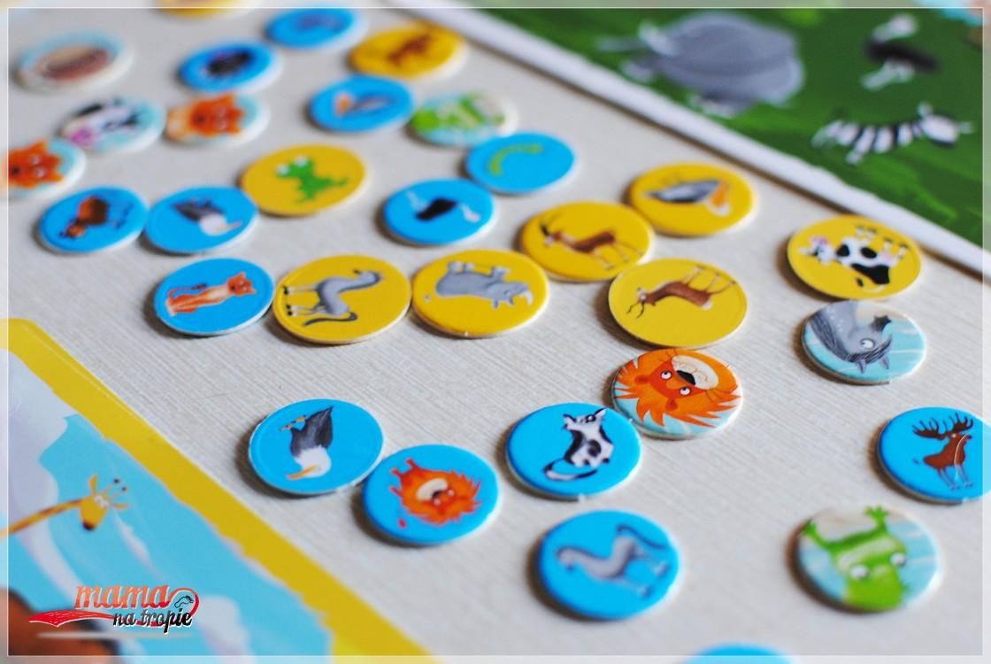 gra dla dzieci 4+, gra dla dzieci, zielona sowa, znajdź mnie