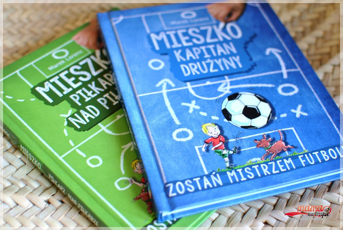 mieszko, jak zostać piłkarzem, książka dla dzieci, książka dla fanów futbolu, o futbolu