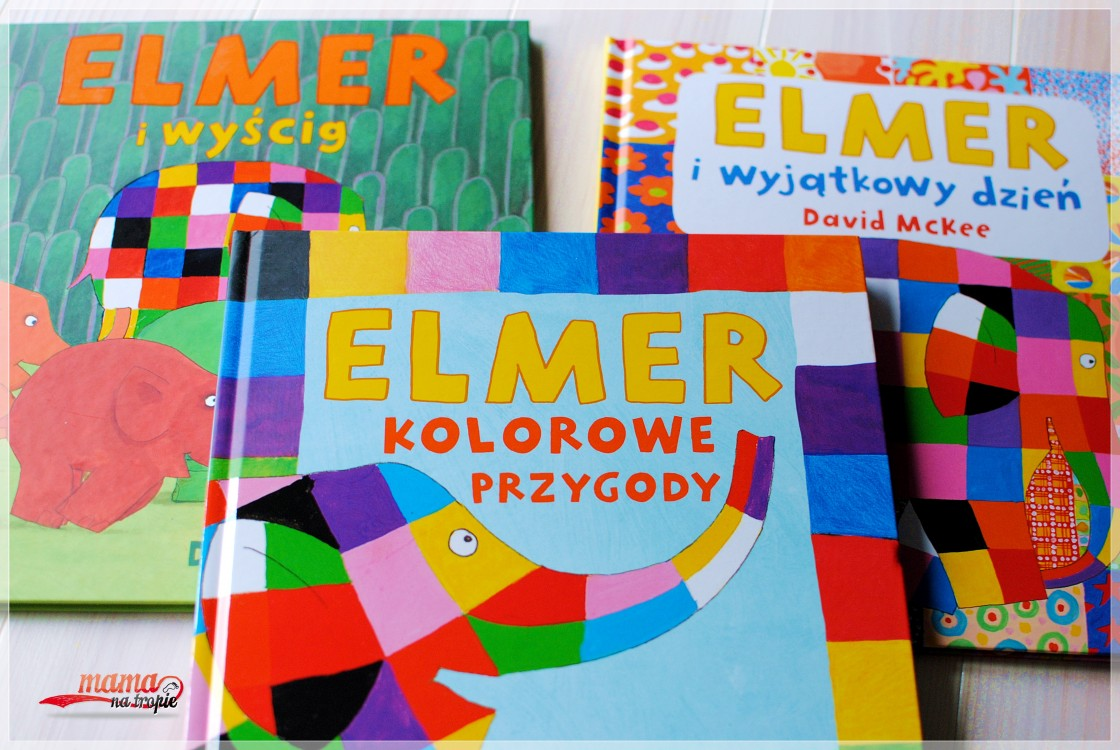 elmer, papilon, książka dla najmłodszych, książka dla dzieci, kolorowy słoń