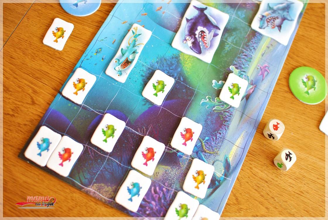 rekin, gra planszowa, gra dla 5latków, gra dla dzieci, granna