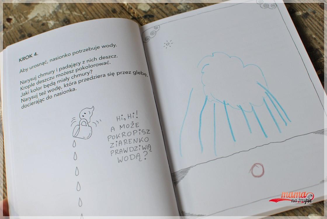 wyhoduj swoje drzewo, książka dla dzieci, robert trojanowski, ced,