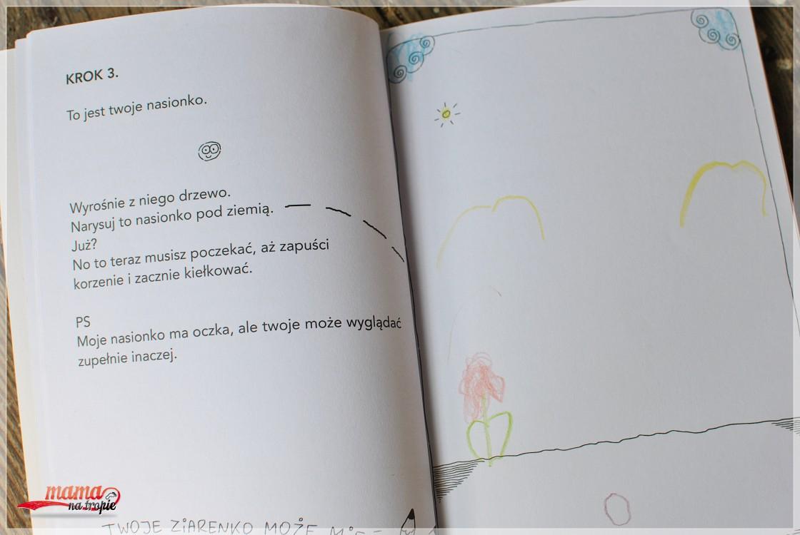 wyhoduj swoje drzewo, ced, robert trojanowski, książka dla dzieci