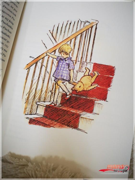 kubuś puchatek, chatka puchatka, nasza księgarnia, książka dla dzieci