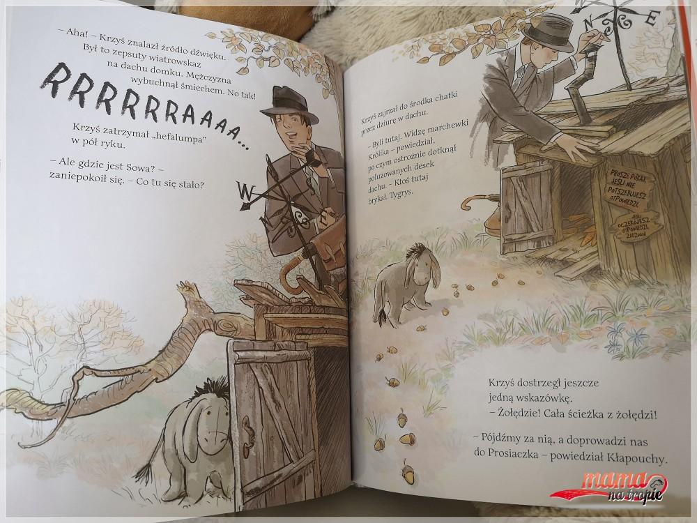krzysiu gdzie jesteś, egmont, książka dla dzieci, chłopiec, balonik i miś