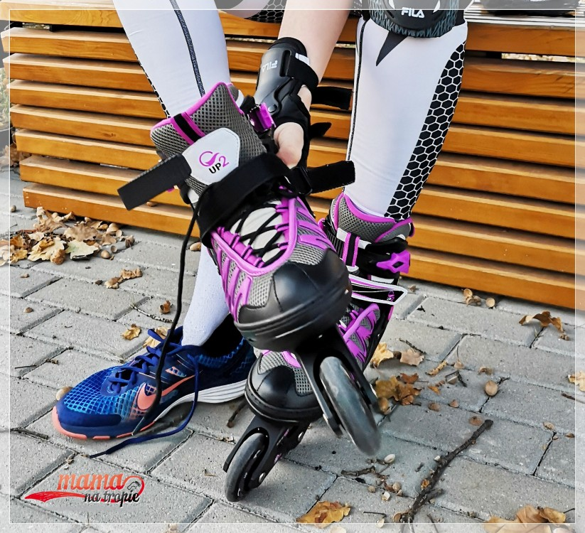 up2glide, rolki basic, rolki dla kobiet, pierwsze rolki, gosport