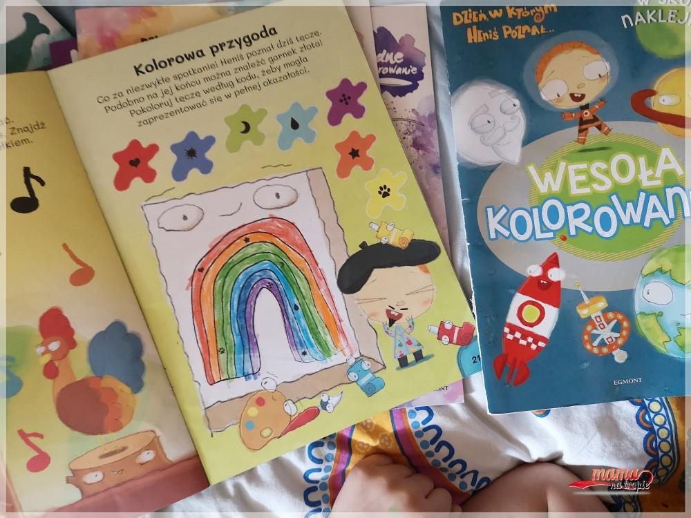 zeszyt zadań, zadania dla dzieci, zadania do książki, egmont, Heniś