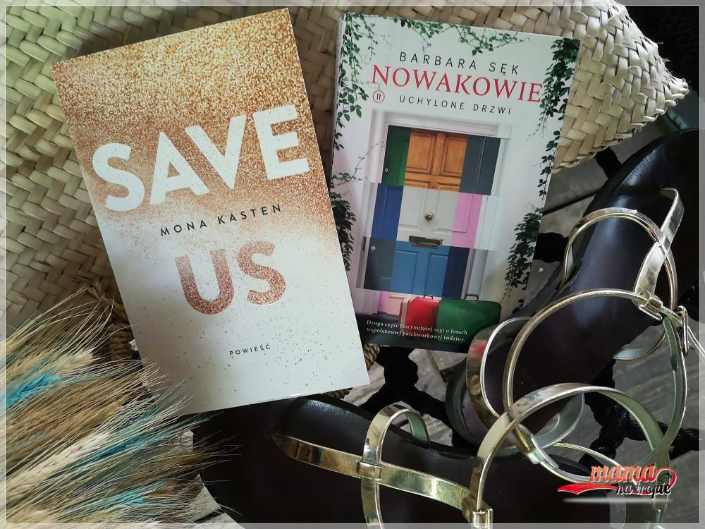 książki dla dorosłych, wydawnictwo jaguar, barbara sęk, nowakowie, save us
