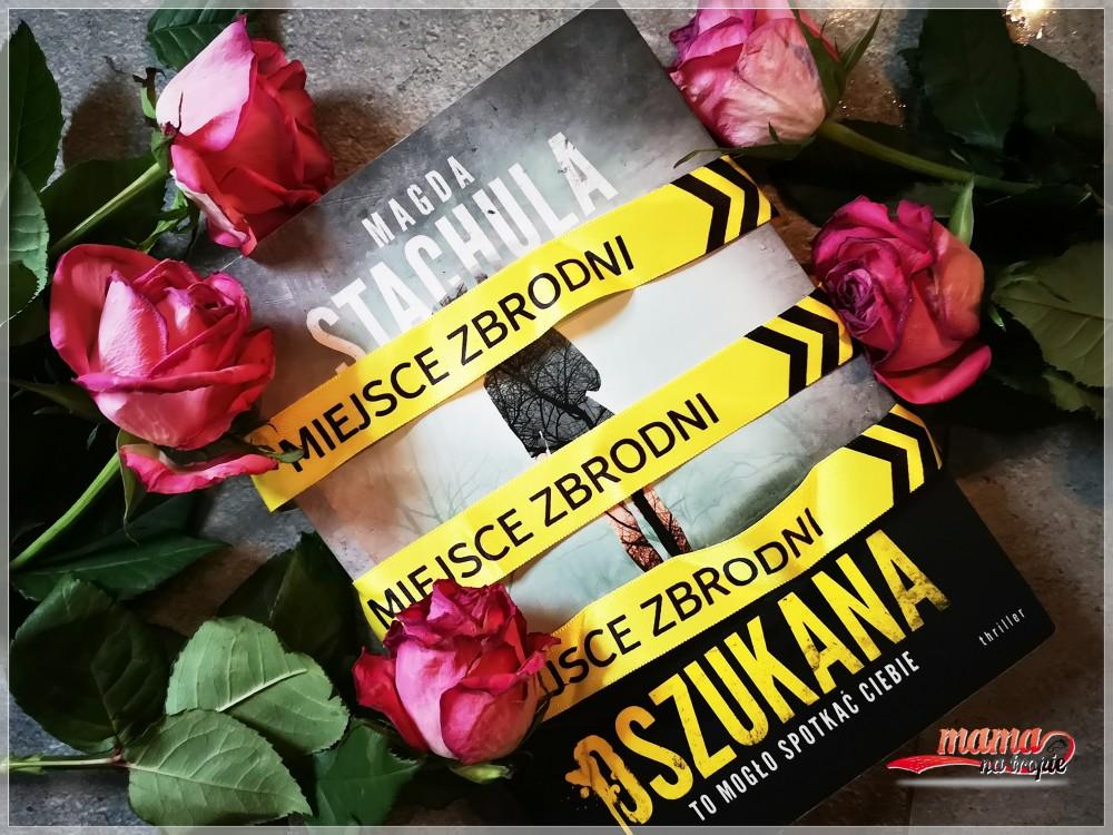 oszukana, magda stachula, thriller, powieść polska