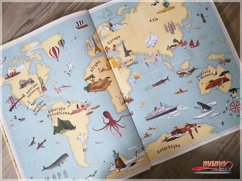książka dla dzieci, nasza księgarnia, atlas cudów, zabytki, ciekawostki