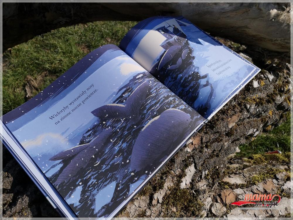 powrót wieloryba, benji davies, książka dla dzieci, książka o przyjaźni, literatura dziecięca, znak emotikon