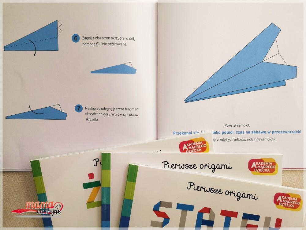 origami z dzieckiem, składanie z papieru, japońska sztuka, pierwsze origami, samolot z papieru, statek z papieru, żaba z papieru, egmont, akademia mądrego dziecka