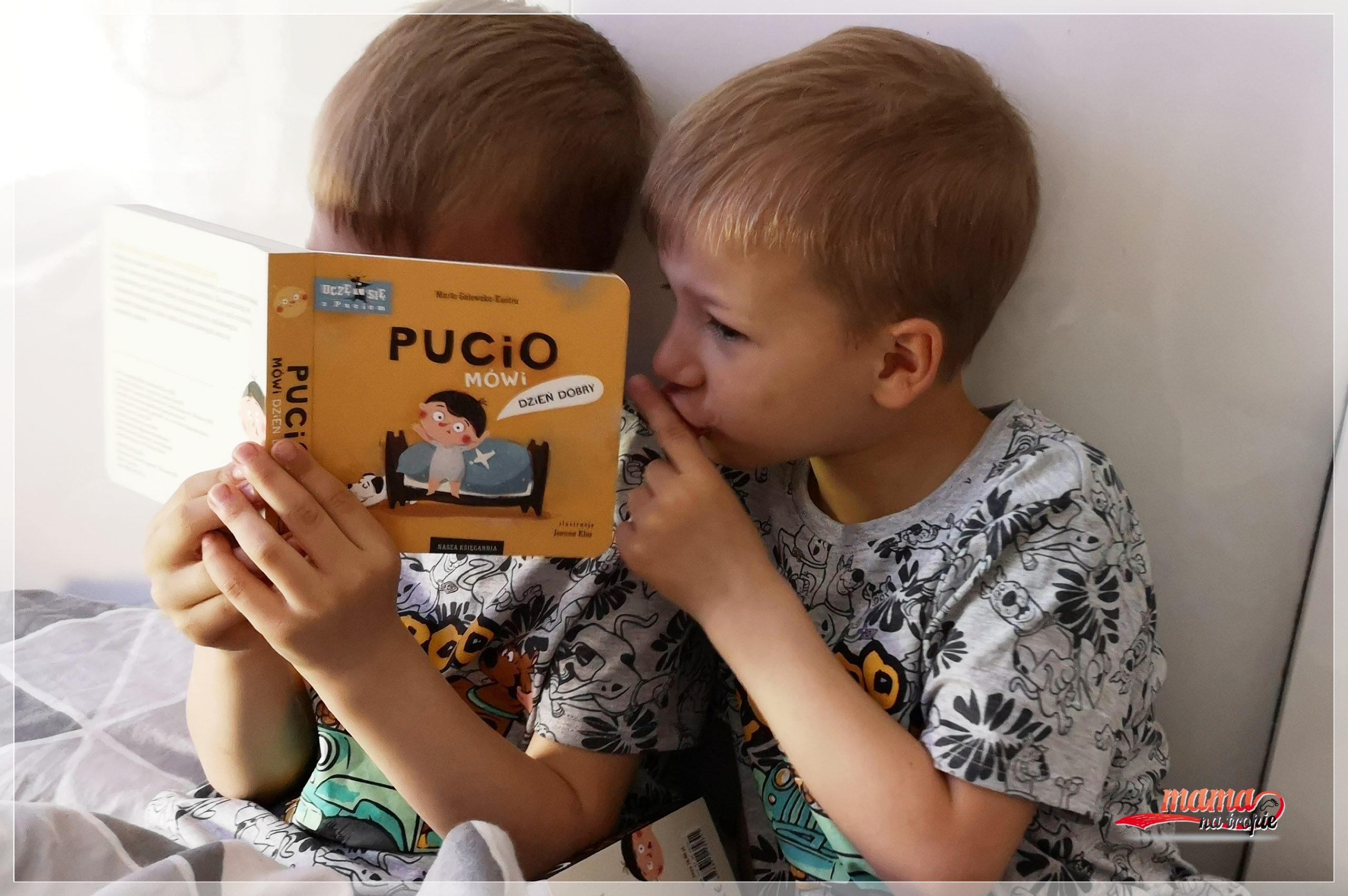 uczę się z puciem, pucio, nasza księgarnia, Marta Galewska-Kustra, książka dla dzieci, książka edukacyjna