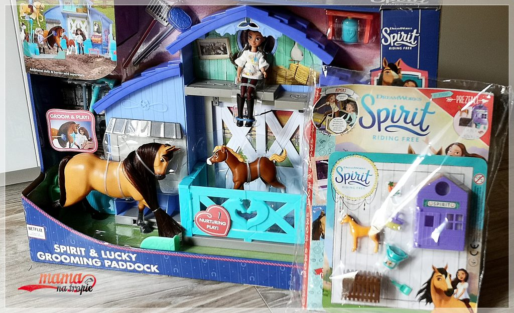 spirit riding free, czasopismo dla dzieci, bajka dla dzieci, egmont, mustang