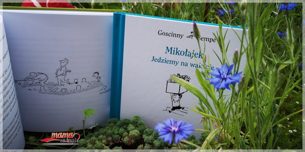 Mikołajek, kolekcja psot i wybryków, znak emotikon, książka dla dzieci