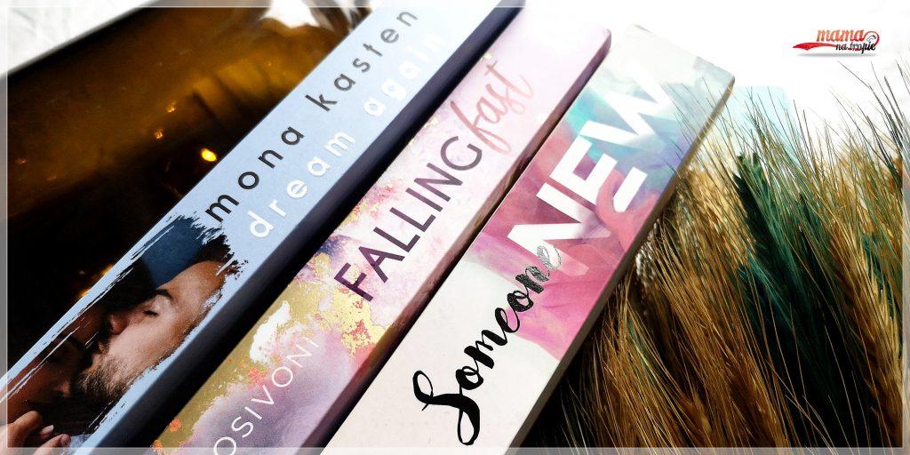 new adult, powieść dla dorosłych, powieść dla młodzieży, wydawnictwo jaguar, someone new, dream again, falling fast