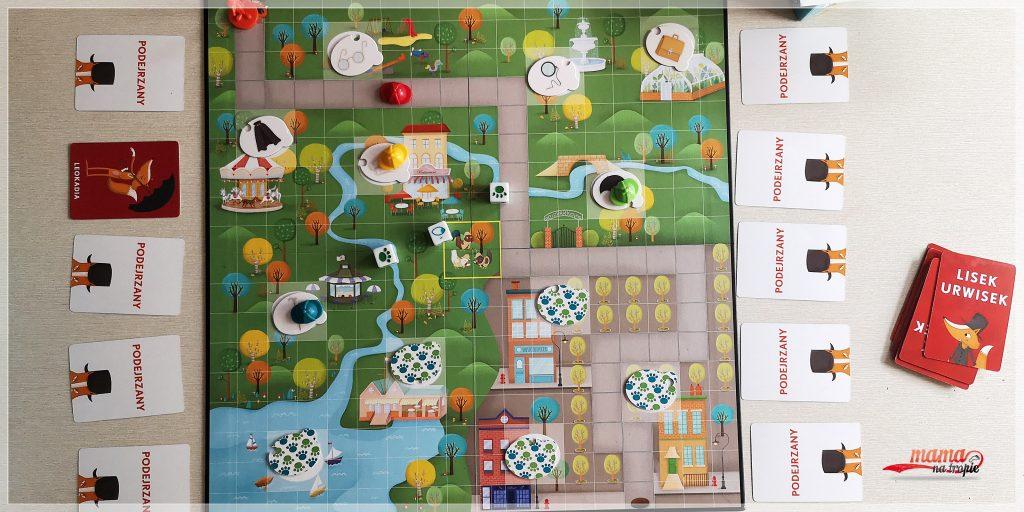 dzień gier planszowych, planszówki, gry planszowe dla dzieci, gry dla dzieci, nasza ksiegarnia, lisek urwisek, wszystko albo nic, ślimaki to mięczaki