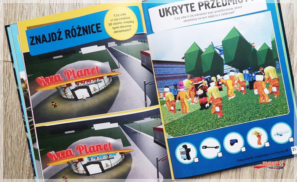 minecraft, roblox, gra dla dzieci, gra video, książki dla dzieci, książki o grach