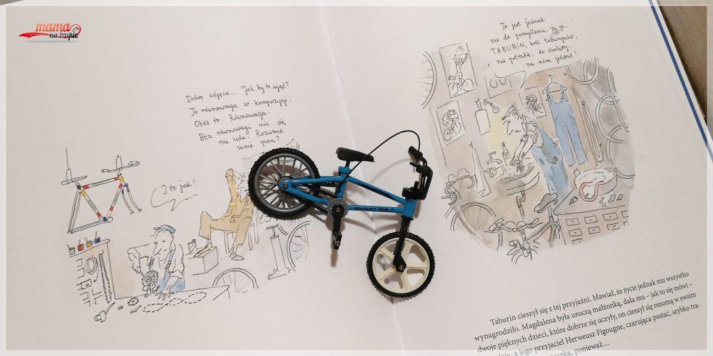 sekret sprzedawcy rowerów, sempe, książka dla dzieci, znak emotikon, dla dzieci,