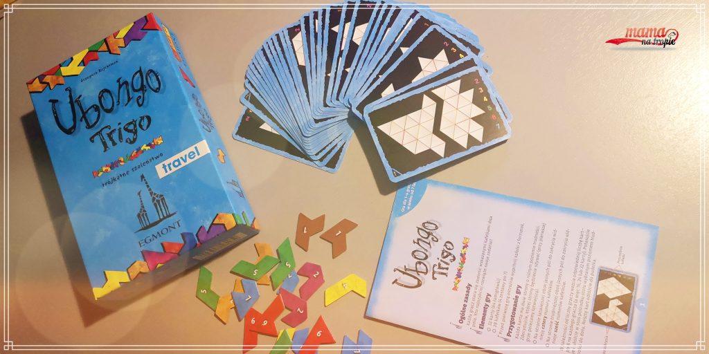 gry do plecaka, ubongo trigo, gry dla dzieci, gry dla rodziny, gry na podróż, planszówki, egmont