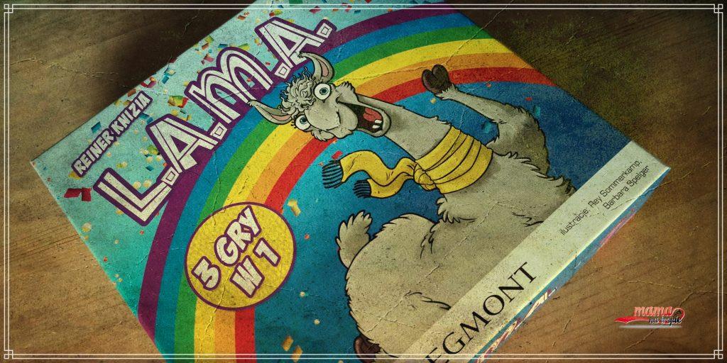 L.A.M.A., 3 gry w 1, gry planszowe, planszówki dla dzieci, gry dla dzieci, egmont