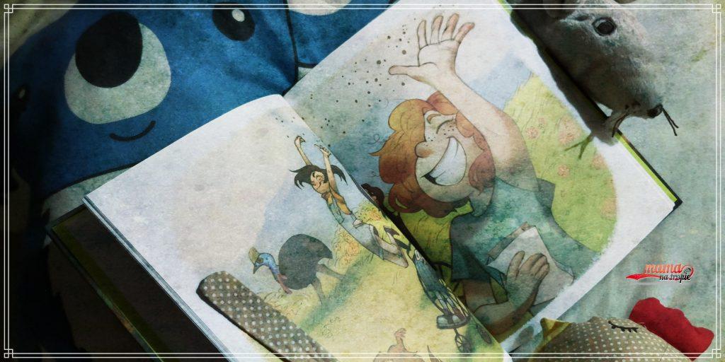ogród pełen emocji, ewa bolesta-mroczek, książka dla dzieci, książka o emocjach