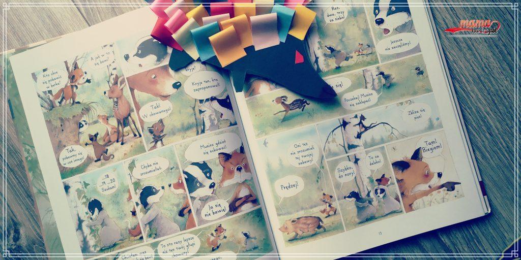 pan borsuk i pani lisica, komiks dla dzieci, egmont